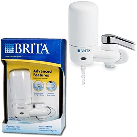 Amazon.com: Brita 42201 Ultra Faucet Filter System: Pitcher Water ...