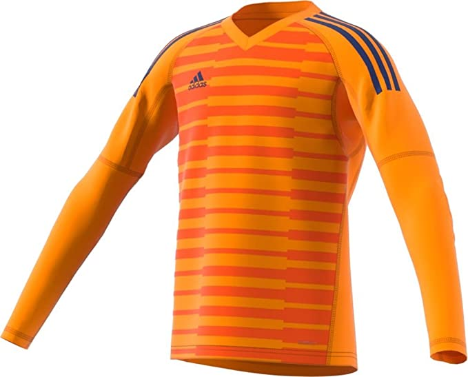 new concept e3e9c 3a14a adidas adiPro 18 Goalkeeper Jersey - Junior s Soccer XS Orange Unity Ink