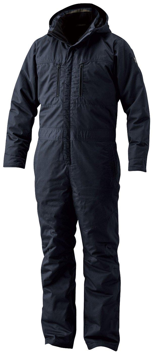 TS DESIGN(ティーエスデザイン)防寒つなぎ ライトウォームオーバーオール 綿100% 防寒服 防寒着 tw-5120 B076FRWCCL L|ネイビー ネイビー L