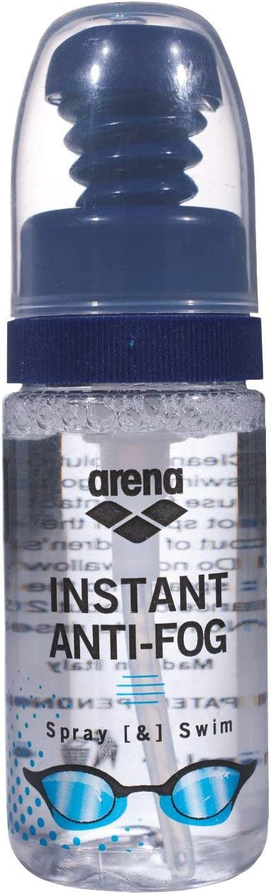 Arena - Spray antivaho para Gafas de natación (sin empañamiento, Compatible con los Ojos, 150 Aplicaciones), Transparente (100), Talla única