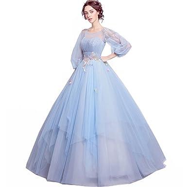0b3979632172d 豪華な花嫁ドレス ウエディングドレス ロングドレス パーティードレス 結婚式 披露宴 カラードレス パーティー