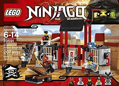 LEGO Ninjago 70591 Kryptarium Prison Breakout Building Kit (207 Piece) from LEGO