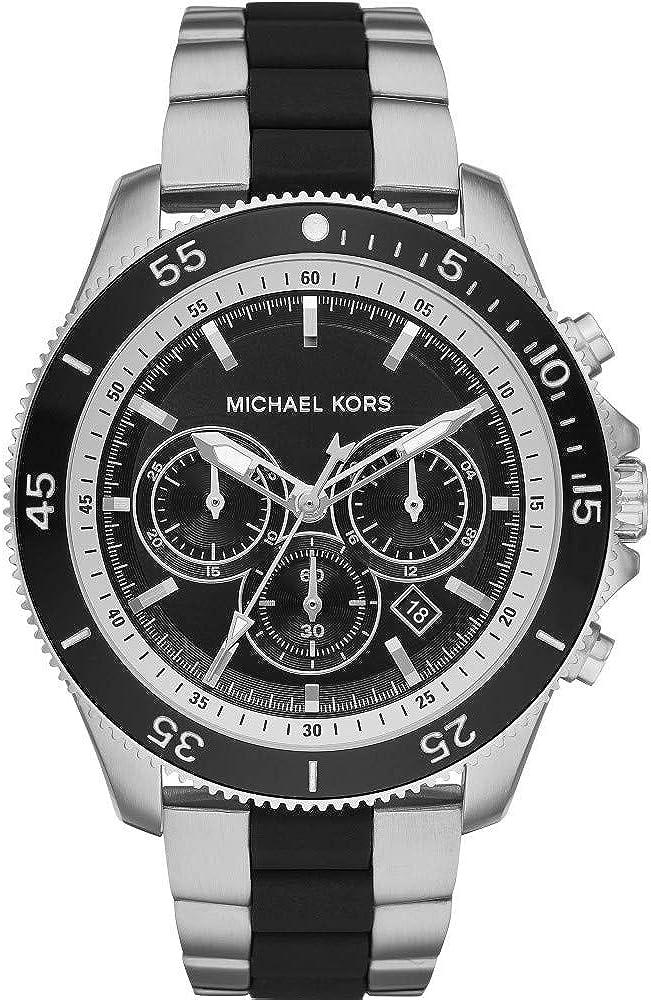 Michael Kors MK8664 Reloj Cronógrafo para Hombre de Cuarzo con Correa en Acero Inoxidable