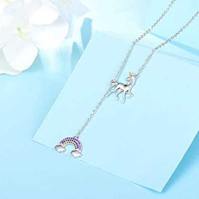 Free Amazon Promo Code 2020 for Unicorn Necklace Earrings Women