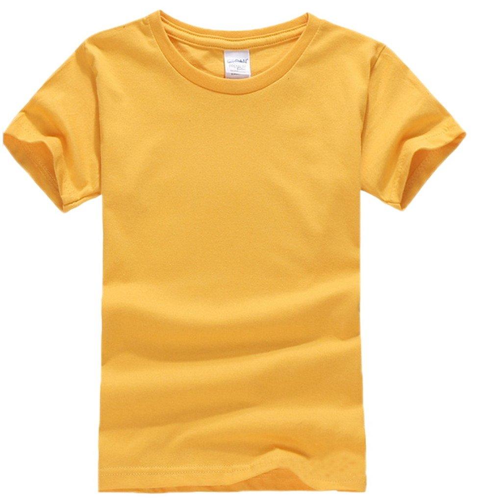 Bigood Children Boy Soft Cotton Short Sleeve Crew Neck Casual Bottom T-shirt  Top: Amazon.co.uk: Clothing