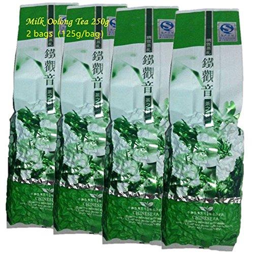 Promoción de leche Oolong té 250 g (0.55LB) de alta calidad Tiguanyin té verde Taiwan Jin xuan leche Oolong cuidado de la salud té de leche comida ...