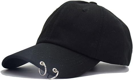 Ksell Baseball Kappen Mode Cap Hut Unisex Damen Herren BTS Stickerei Ringe Baseball Cap KPop Hip Hop Bangtan M/änner Casual Einstellbare Trucker Hat