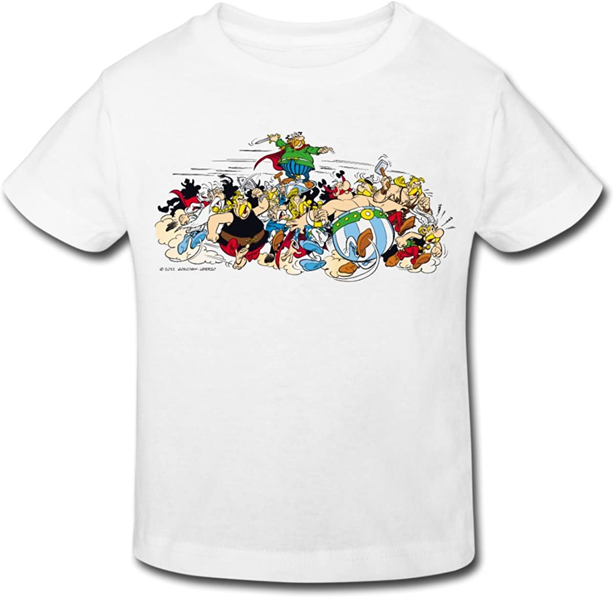 Asterix /& Obelix Gauls Attack Kids Organic T-Shirt