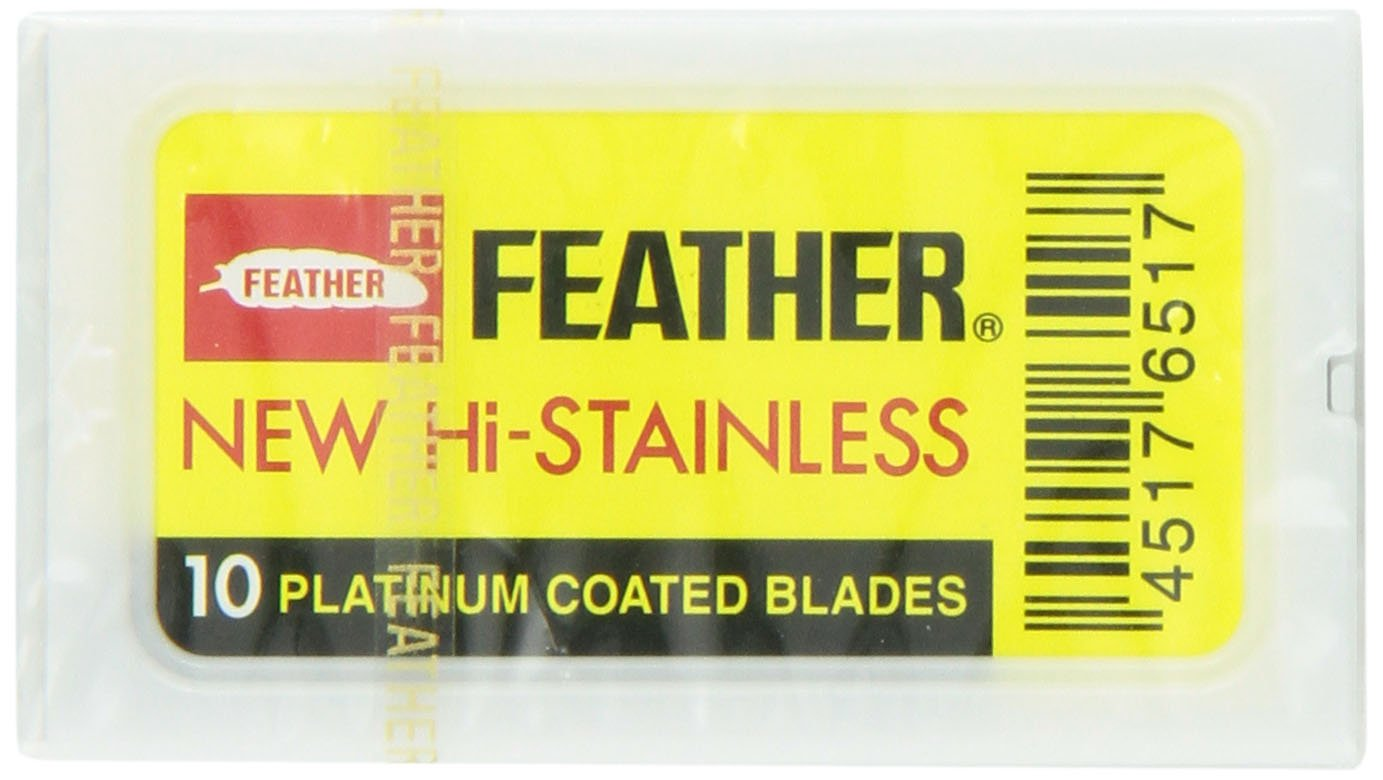 Feather Double Edge Blades, 30 Count