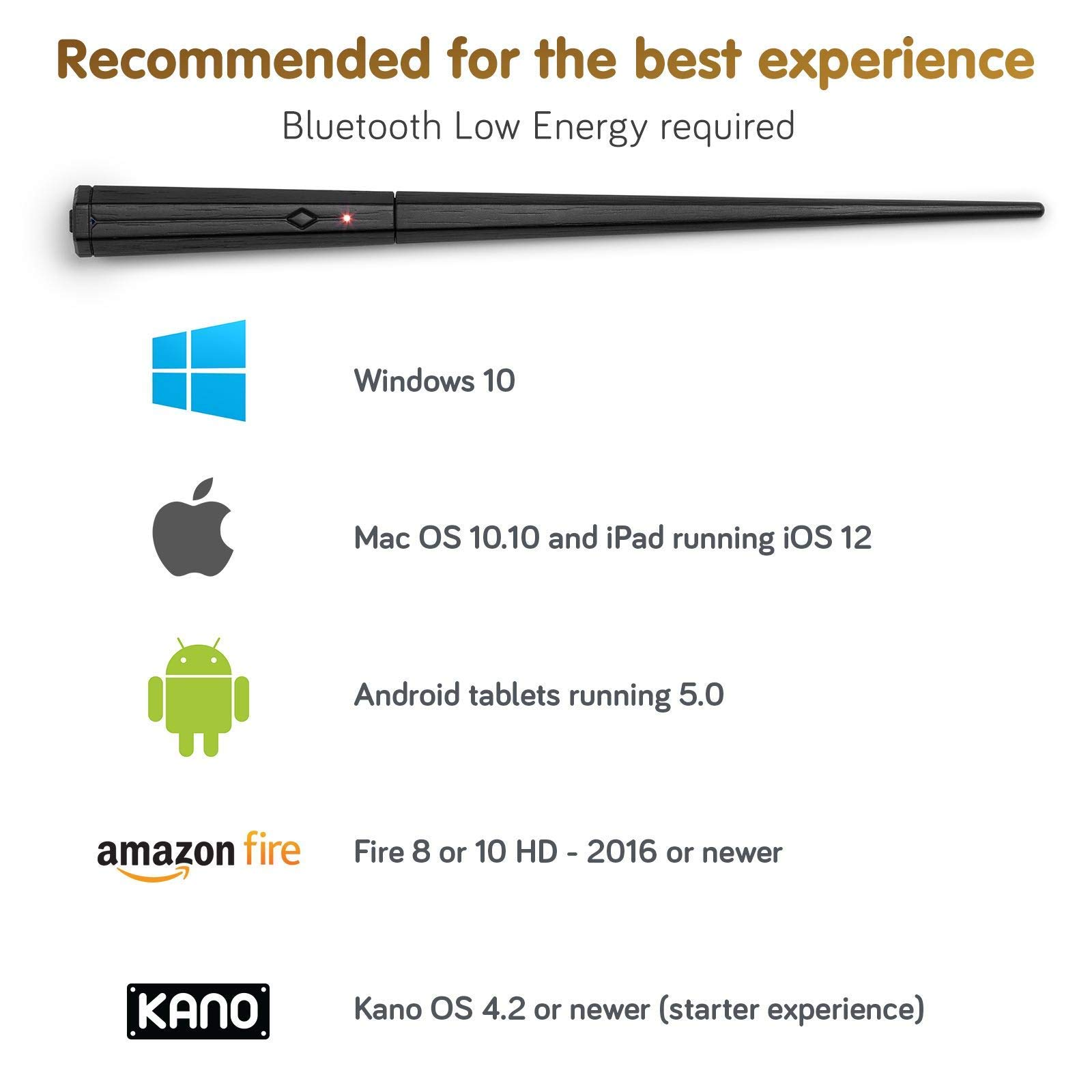 Kano Harry Potter Coding Kit - Build a Wand. Learn To Code. Make Magic. (Renewed) by Kano (Image #6)