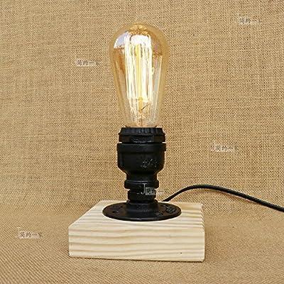 Modeen Lámpara de escritorio retro Vintage Industrial Lámpara de ...