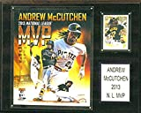 MLB Pittsburgh Pirates Andrew McCuthcen 12x15-Inch Player Plaque
