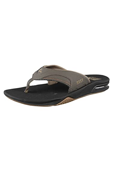 02e9cca9908f Reef Fanning Vintage Brown Mens Guys Flip Flops Sandals R2026VBR ...