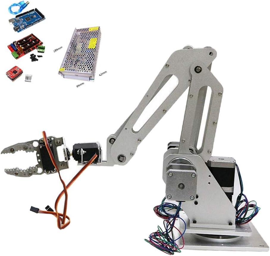 H HILABEE Servo Mecánico Robótico De Agarre De Brazo 3 DOF para ...