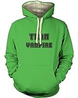 Varsity Style Team Vampire Hoodie (premium) - Film Movie Geeky Tshirt