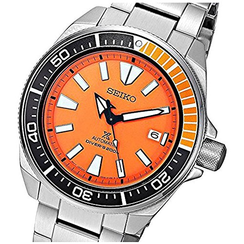 Seiko 'Prospex' Automatic Stainless Steel Casual Watch, Color Silver-Toned (Model: SRPC07) Seiko Automatic 200m Diving Watch