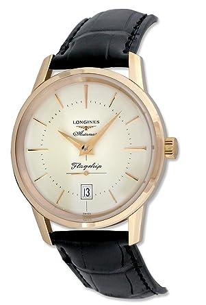 longines flagship heritage automatic 18kt rose gold mens watch l4 longines flagship heritage automatic 18kt rose gold mens watch l4 795 8 78 2