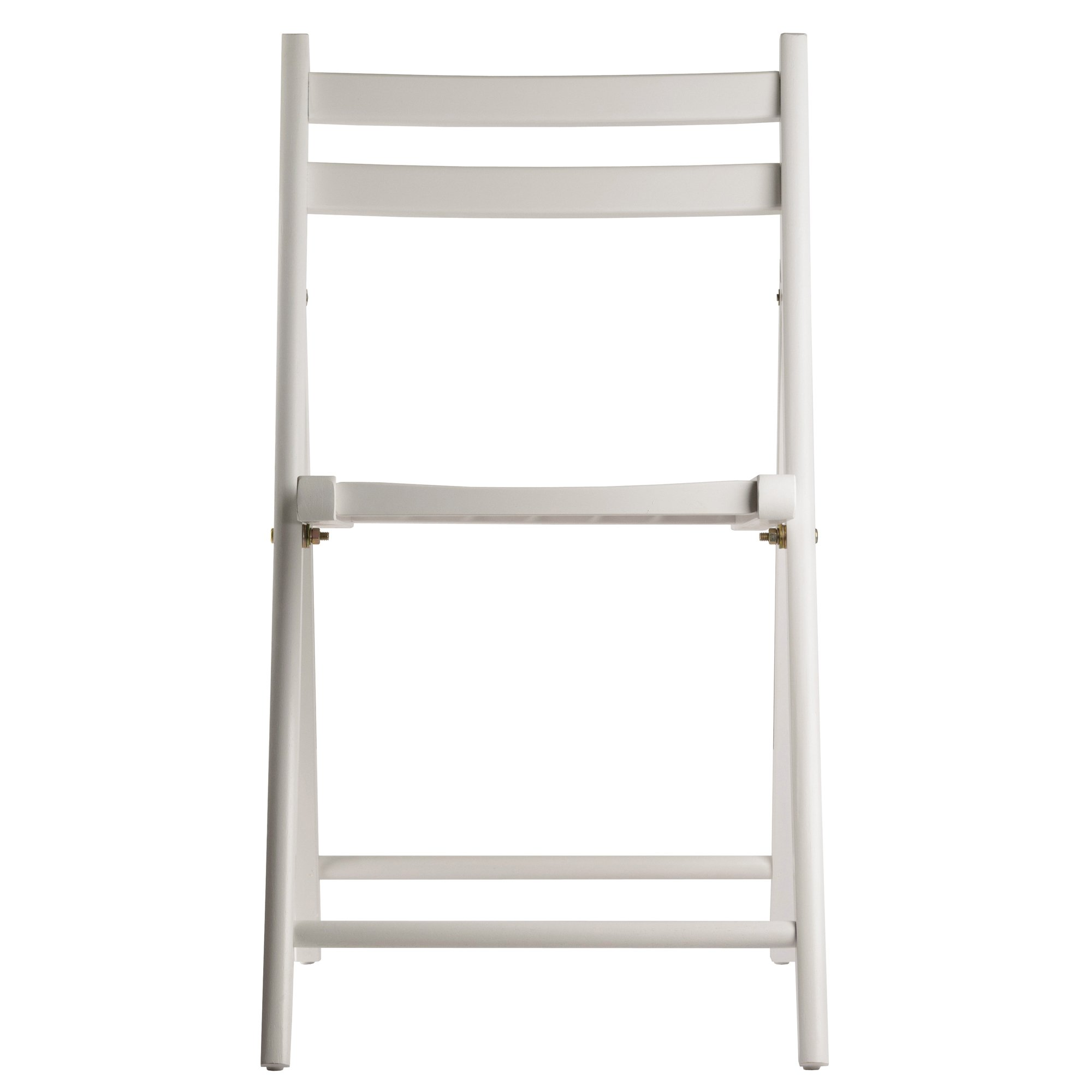 Winsome Wood 10415 Robin 4-PC Folding Set White Chair by Winsome Wood (Image #3)