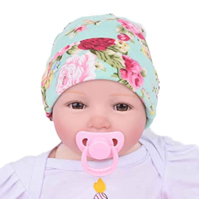 Sunward(TM) Newborn Baby Hospital Hat With Flower Bowknot