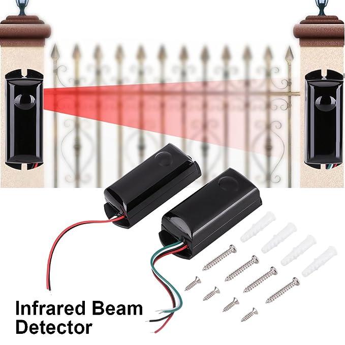 Garosa Sensor Infrarrojo De Haz Impermeable Herramienta De Alerta De Seguridad Al Aire Libre Sistema De Protección Perimetral Sistema De Alarma Sensor IR ...