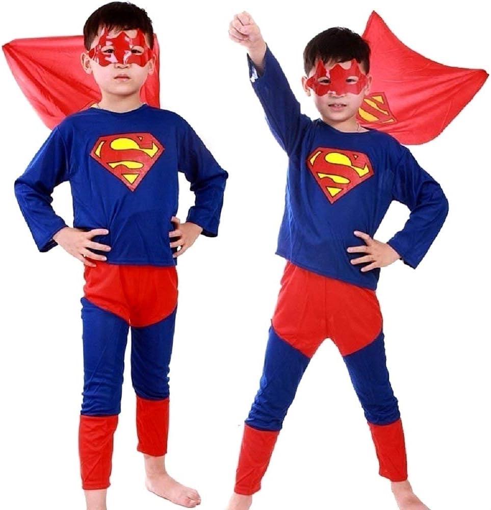 Vestido de carnaval de Superman incluye: camiseta pantalón y ...
