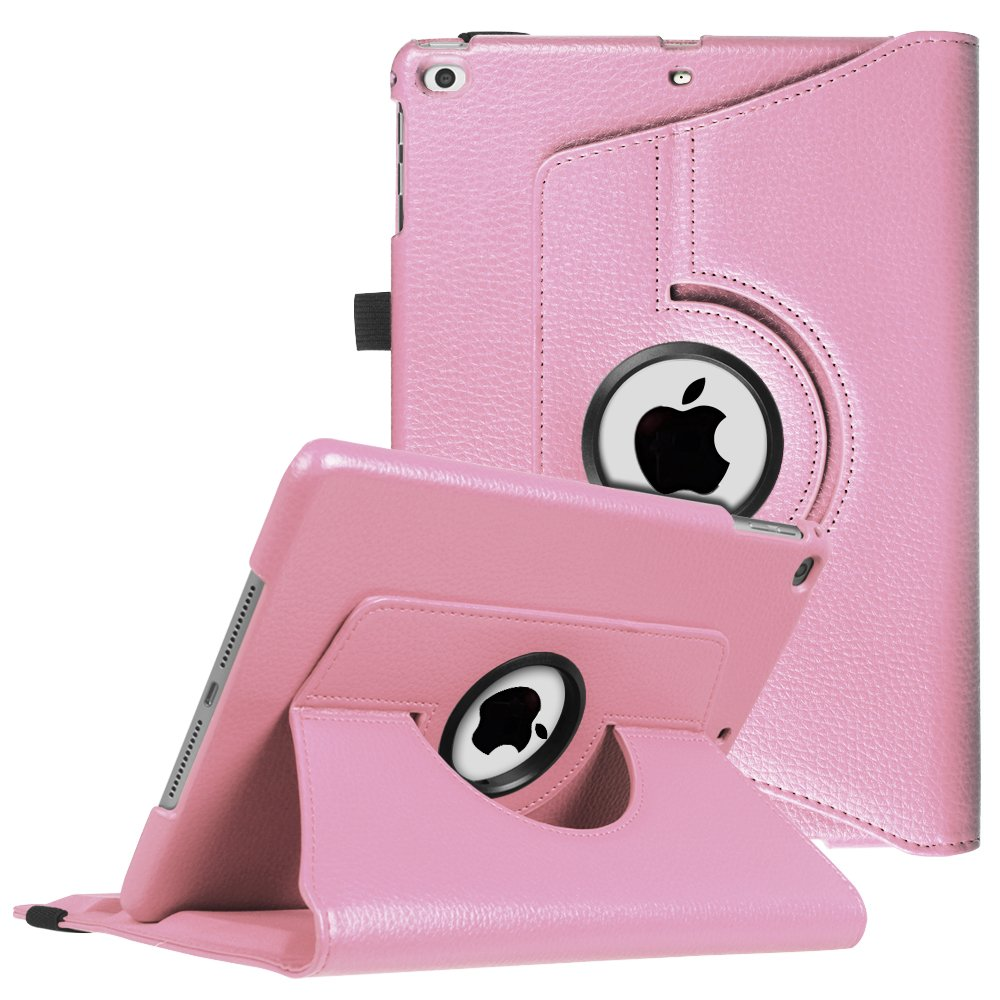 6th Gen, 5th Gen Black 360 Degree Rotating Stand Protective Cover with Auto Sleep Wake for iPad 9.7 inch Fintie iPad 9.7 2018 2017 // iPad Air 2 // iPad Air Case // iPad Air 2 // iPad Air