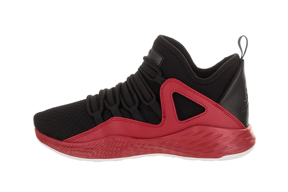 Jordan Formula 23 BG BLACK BLACK GYM RED WHITE Size 5.5Y 0195701065