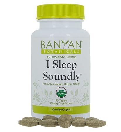 Banyan Botanicals I Sleep Soundly   Usda Organic, 90 Tablets   Non Habit Forming Ayurvedic Herbal Sleep Aid* by Banyan Botanicals