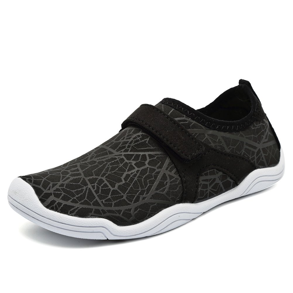 Fantiny Boys /& Girls Water Shoes Lightweight Comfort Sole Easy Walking Athletic Slip on Aqua Sock Toddler//Little Kid//Big Kid JY