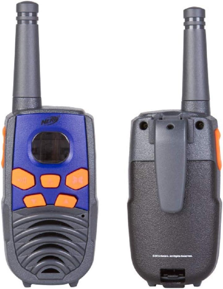 Nerf 37756 10 Mile Walkie Talkie Set Orange and Black Sakar Intl 37756-TRU