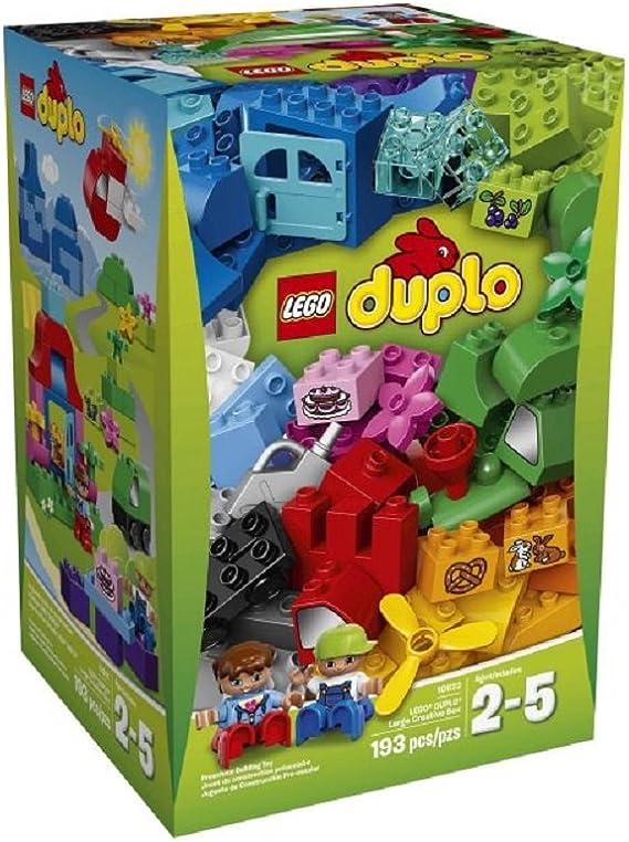 LEGO Duplo - Large Creative Box 10622 (193 pieces) by LEGO: Amazon ...