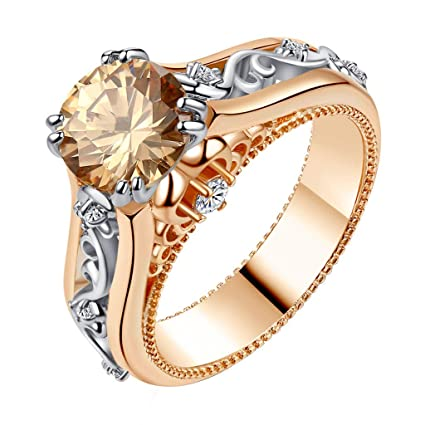 Amazon.com  Wenini Womens Wedding Ring 87b3837a826d