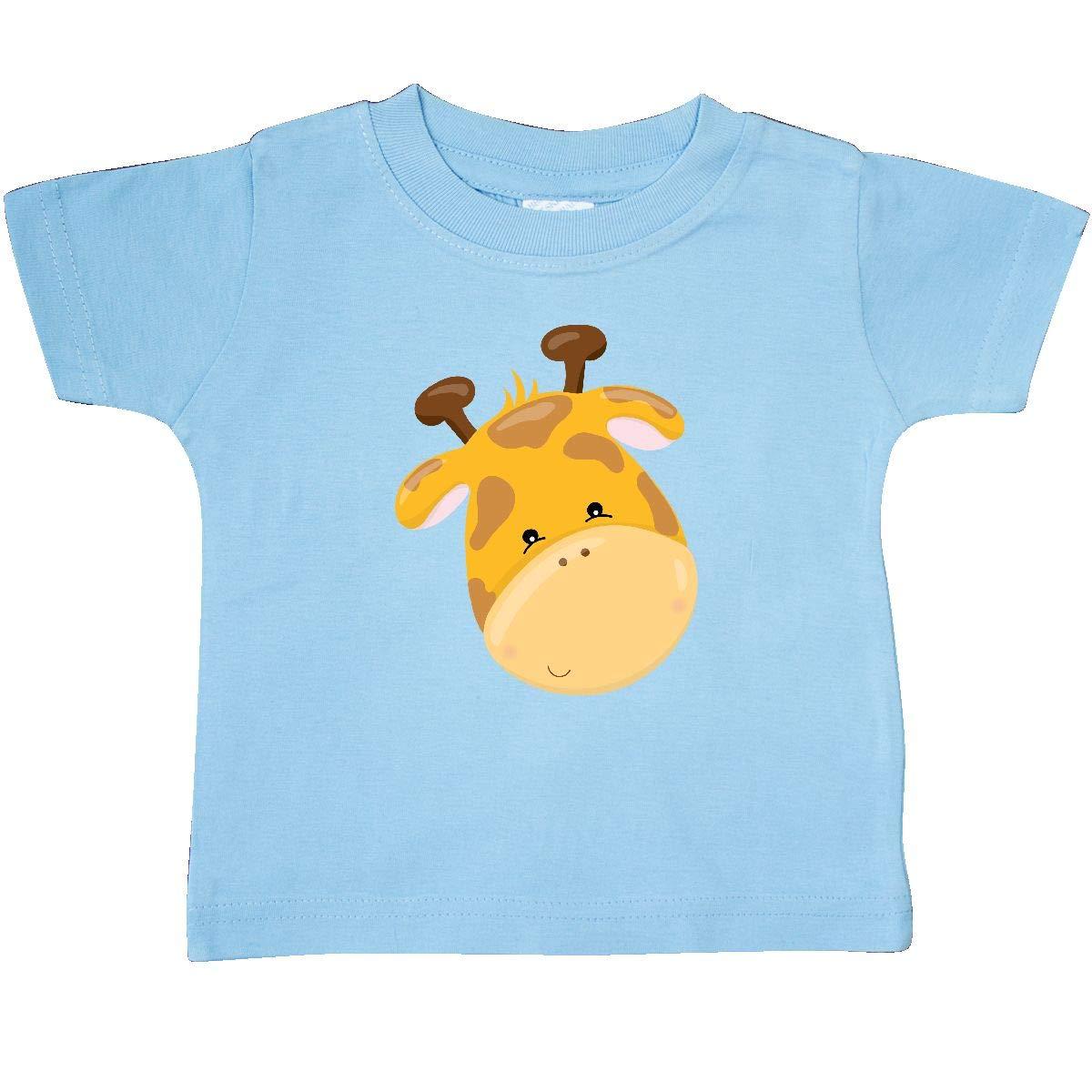 inktastic Cute Giraffe Head Baby T-Shirt
