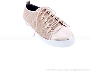 Liliana Shoes Sneakers with All Stones Chic 40
