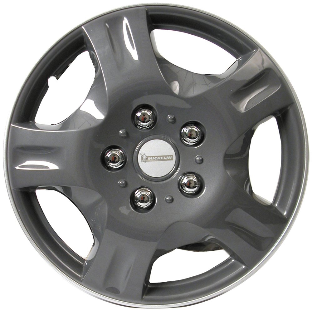 Michelin 0090 NVS 942 - Tapacubos (4 unidades), color gris 13