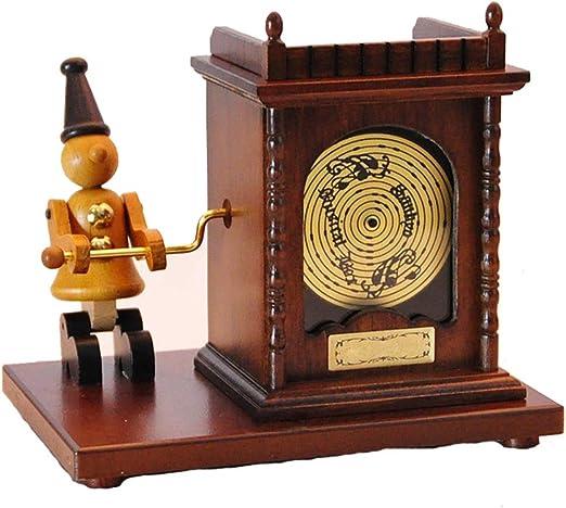 Caja de Música Caja de música de Madera Marioneta Caja de música ...