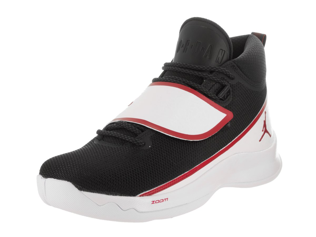 (ジョーダン) Jordan シューズ Jordan Super Fly 5 PO Blk/Wht/Red バスケットボール B06XDLTMLT 28.0 cm Blk/Wht/Red