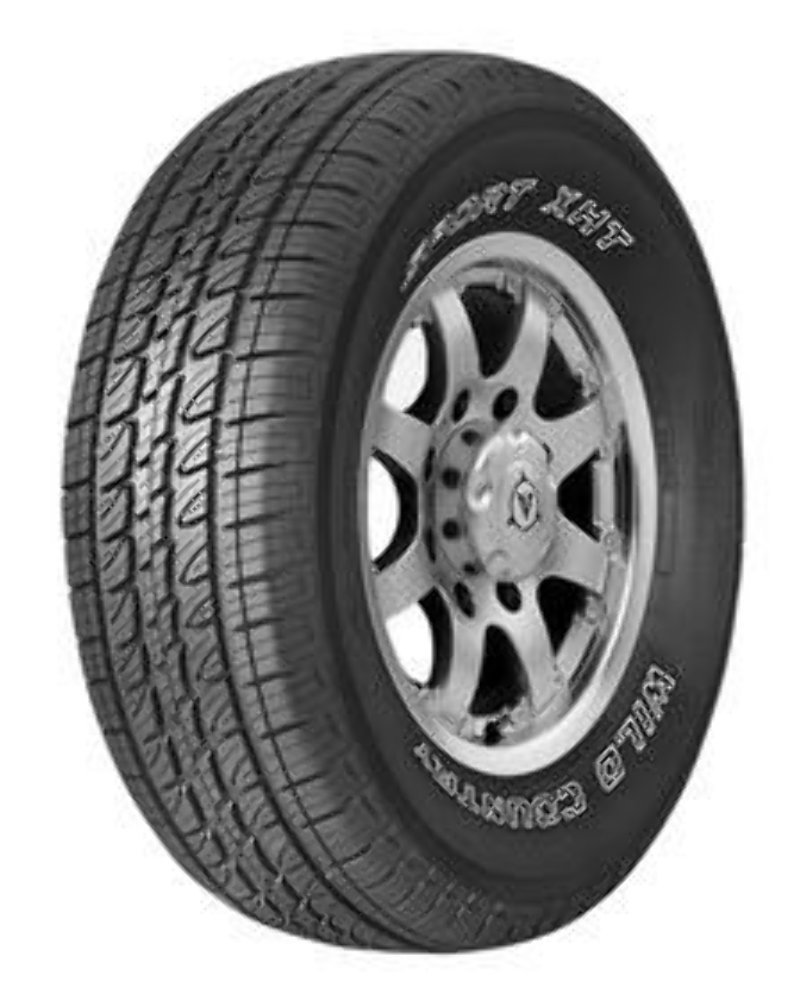 235//75-15 MultiMile Wild Country Sport XHT 105S Tire OWL
