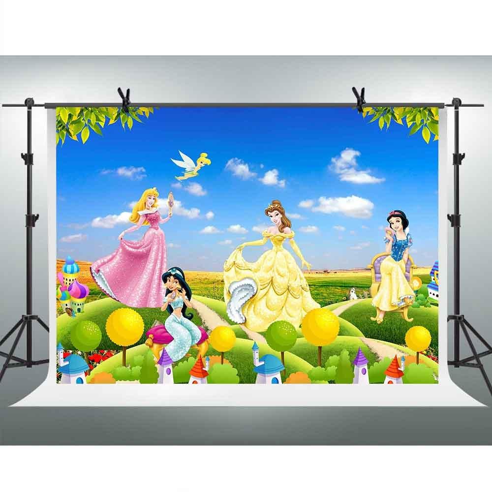 【期間限定特価】 FH 10 X 7ft Cartoon backdrop Girl Anime Cartoon Characterイメージブルースカイ雲写真背景テーマパーティーYoutube背景写真ブース小道具Studio X FH tmfh016 B07CWL1NJV, 太子町:bfab9646 --- by.specpricep.ru