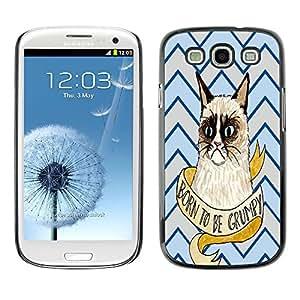Dragon Case - FOR Samsung Galaxy S3 - Everybody wants happiness - Caja protectora de pl??stico duro de la cubierta Dise?¡Ào Slim Fit