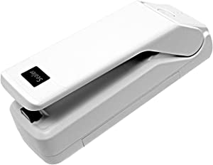 Jior Mini Bag Sealer, 4 in 1 Heat Sealer Food Sealer for Home, Chip Bag Sealer machine Mini for Food Kitchen Sealing, Mini Sealing Machine Mini Bag Sealer Heat Seal for Snacks Bags, Coffee Bags.