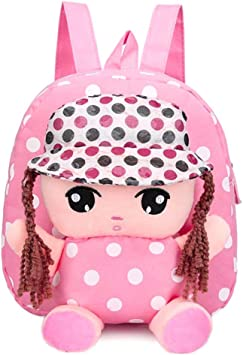 Toddler Kids Girls Boys Cartoon Backpack Shoulder Mini School Bags Rucksack Soft