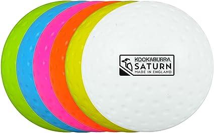 Kookaburra Dimple Saturn - Pelota de Hockey, Color Blanco: Amazon ...