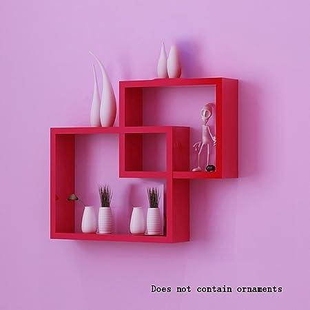 ALUK- Stylish Simplicity Wood-based Panels Floating Shelf/wall ...