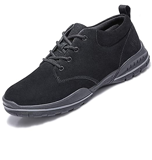 9c4e9783b5dd2 CAMEL CROWN Mens Lightweight Walking Shoes Men Sneakers Breathable Leather  Casual Shoes for Outdoor Sport Gym Running Office