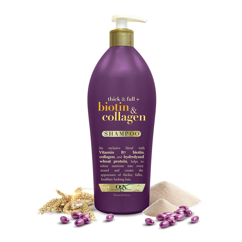 Watch OGX 13 fl. oz. Thick Full Biotin Collagen Conditioner video