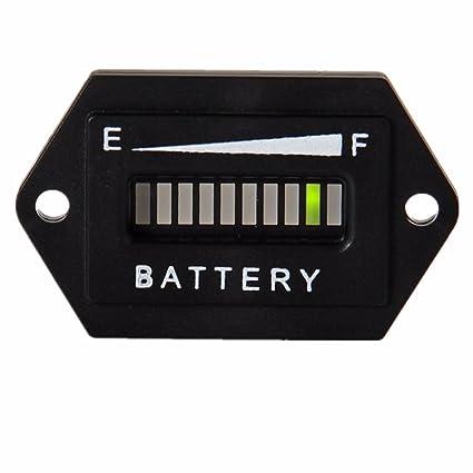 amazon com recpro 36v volt battery indicator meter gauge for ezgo rh amazon com Aylor Dunn 36V Wiring-Diagram 1996 EZ Go Wiring Diagram