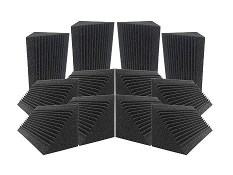 Acepunch 12 Tratamiento de aislamiento acústico de espuma acústica con trampa de graves de esquina multi