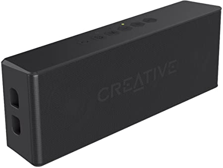 Creative MUVO 2 Bluetooth Wireless Speaker (Black) Bluetooth Speakers at amazon