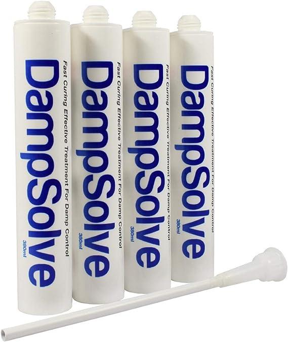 Damp Proof Injection Cream Kit High Strength DPC 4 x 1L Kit DAMPSOLVE 40